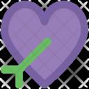 Heart Arrow Love Icon