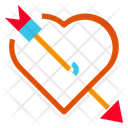 Heart And Arrow Icon