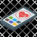 Heart App E Health Medical App Icon