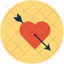 Heart Arrow And Icon