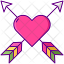 Mheart Arrow Heart Arrow Arrow Icon