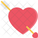 Heart Arrow Heart Love Icon