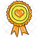Heart Award Icon
