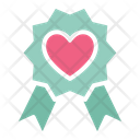 Heart Heart Badge Insignia Icon