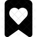 Heart Badge Icon