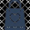 Heart bag Icon