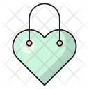Bag Shopping Heart Icon