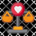 Heart Balance Icon