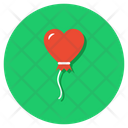 Heart Balloon Party Decorations Party Balloon Icon