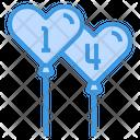 Heart Balloon Balloons Valentine Icon