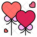 Heart Balloon Balloons Heart Icon