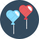 Heart Balloon Icon
