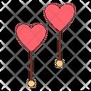 Ballon Love Romance Icon