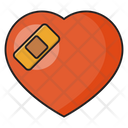Heart Bandage Pain Icon