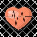Health Life Pulses Icon