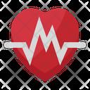 Heart Shape Beat Icon