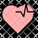 Heart Beat Health Icon