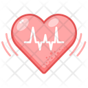 Heart Beat Medical Healthcare Icon