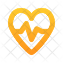 Heart Beat Heart Health Icon