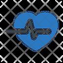 Health Heart Beats Icon
