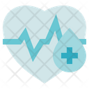 Blood Donation Medical Heart Blood Donation Icon