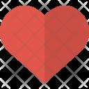 Heart Bookmark Favorite Icon