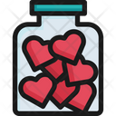 Heart Bottle Love Valentine Icon