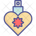 Heart Bottle Perfume Perfume Bottle Icon