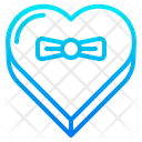 Heart Box Gift Giftbox Icon