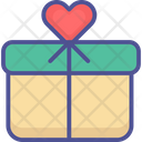 Heart Box Inspiration Celebrations Icon