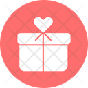 Heart Box Gift Box Heart Shaped Icon