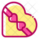 Heart Box Gift Box Marriage Icon