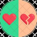 Heart Break Broken Heart Breakup Icon