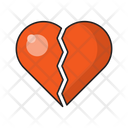 Heart Broken Sad Icon