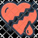 Worry Broken Disquietness Icon