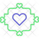 Heart Bubble Heart Sign Bubble Chat Icon