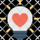 Heart Bulb Icon