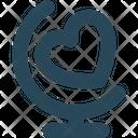 Heart Calendar Icon