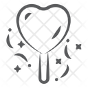 Heart Candy Sweet Candy Lollipop Icon