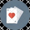 Ace Heart Suit Icon