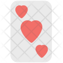Heart card Icon