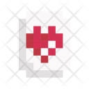Heart Card Game Icon
