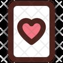 Heart Card Poker Card Casino Card Icon