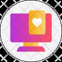 Gambling Heart Card Game Icon