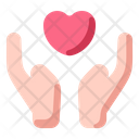 Hand Love Heart Icon
