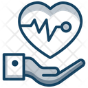 Love Caring Heart Care Heart Protection Icon
