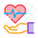 Heart Hand Love Icon