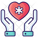 Heart Care Heart Protection Healthcare Icon
