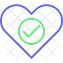 Heart Care Heart Lock Heart Padlock Icon