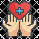 Heart Care Heart Health Healthcare Icon